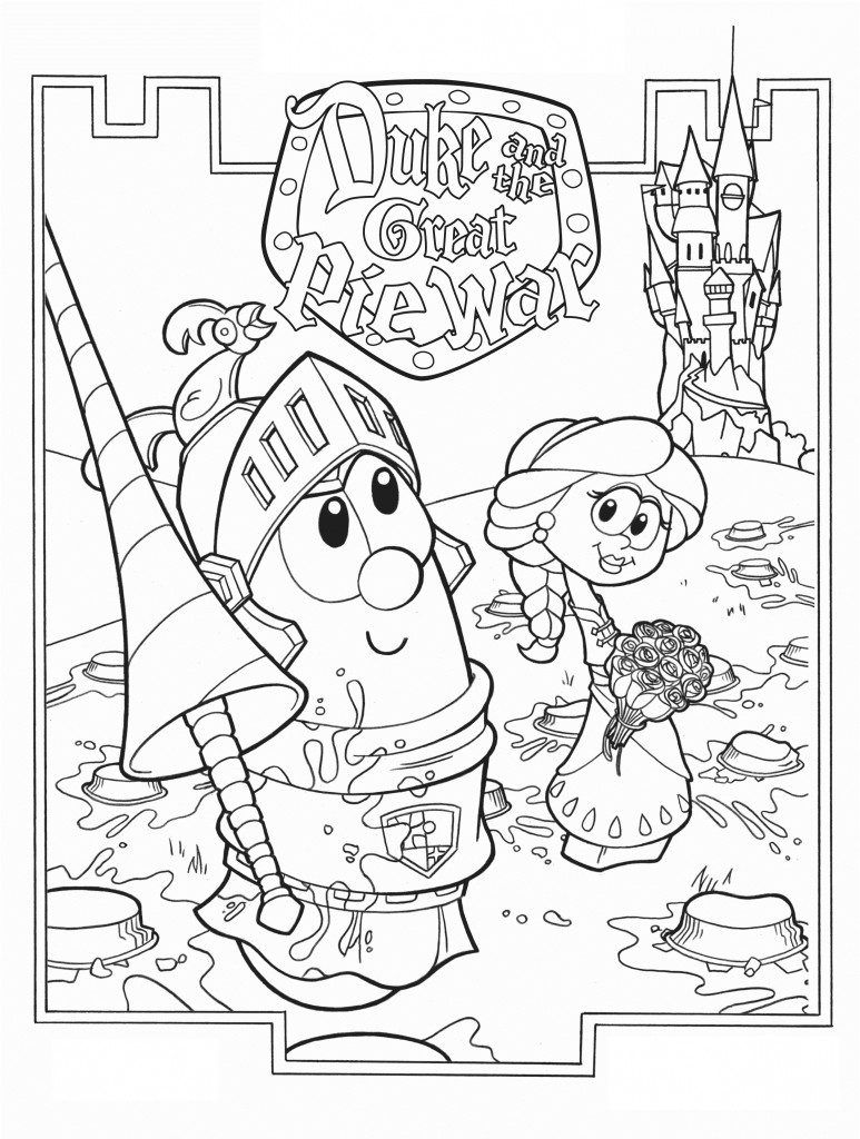 773x1024 Veggie Tales God Made You Special Coloring Pages