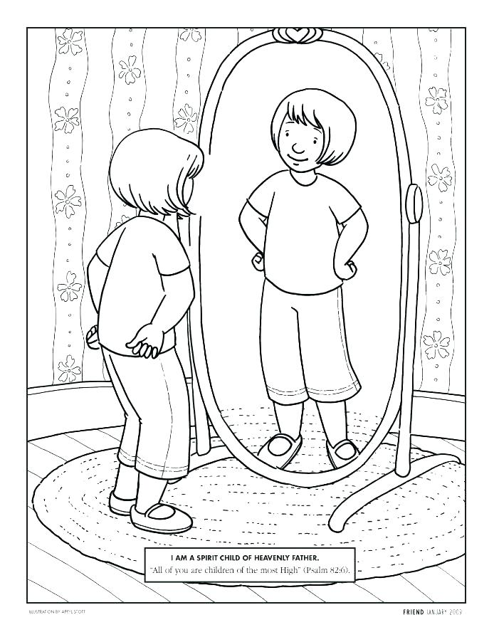 694x902 God Made Me Special Coloring Pages