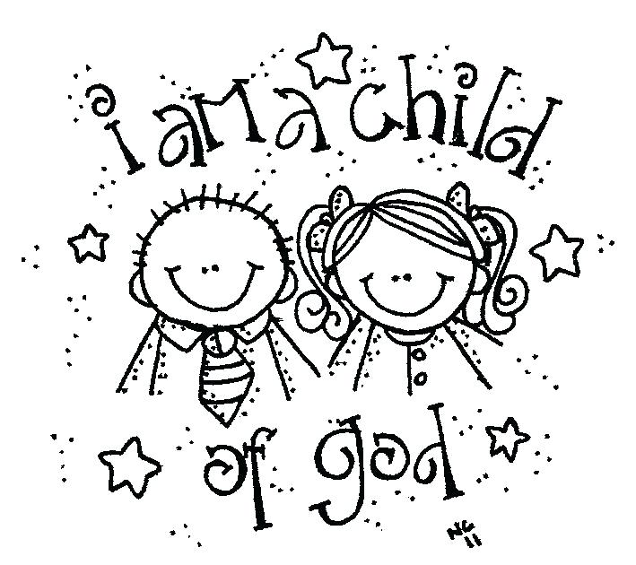 709x630 God Made Me Special Coloring Pages Coloring Collection
