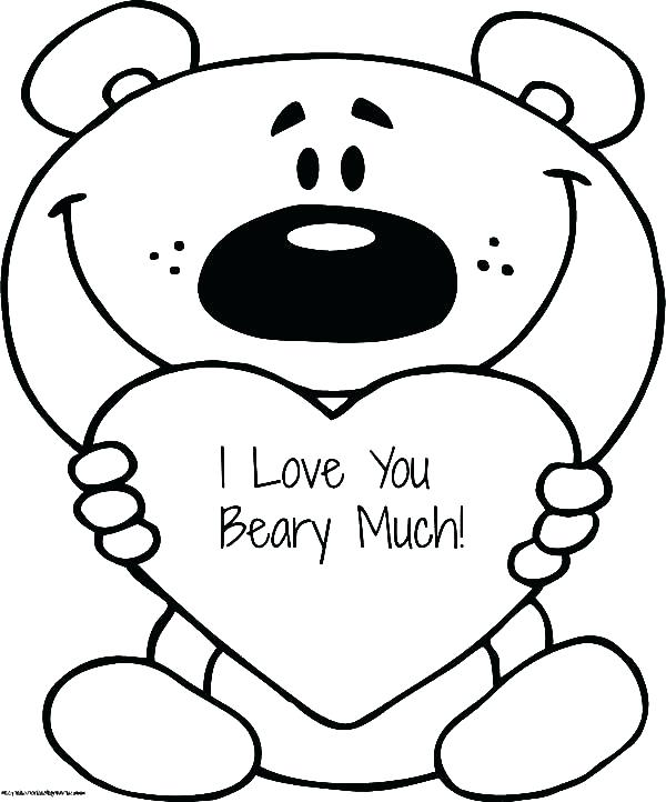 600x722 Coloring Pages Love I Love You Coloring Sheets I Love You So Much