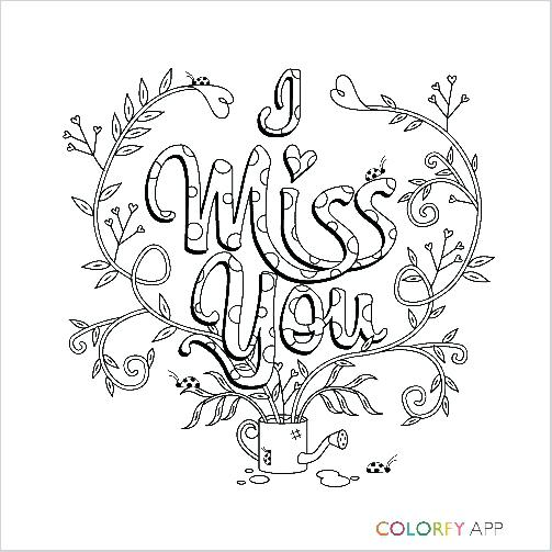 503x503 I Miss You Coloring Pages Christmas For Adults Coloring Collection