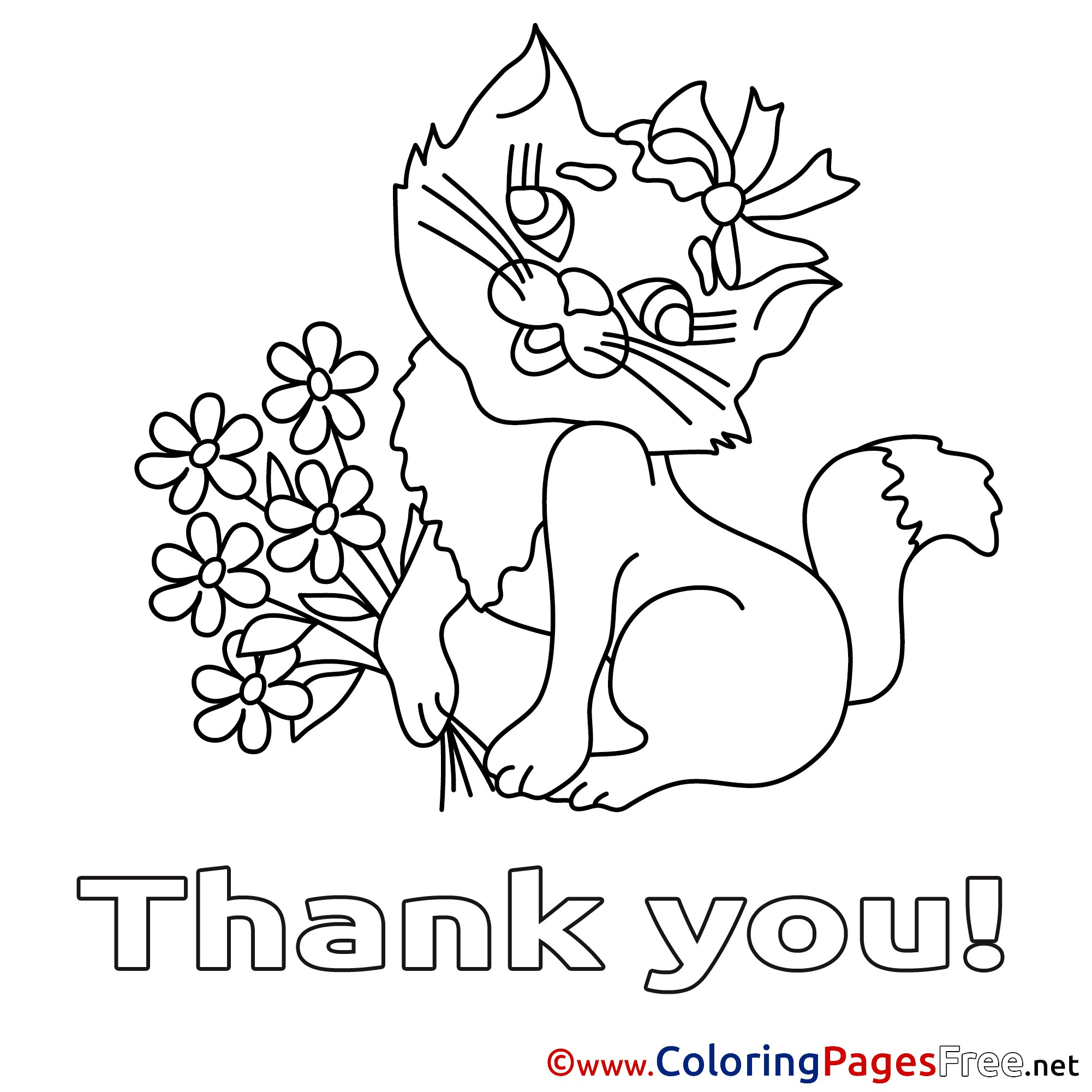 2001x2001 Thank You Coloring Pages Summer Throughout