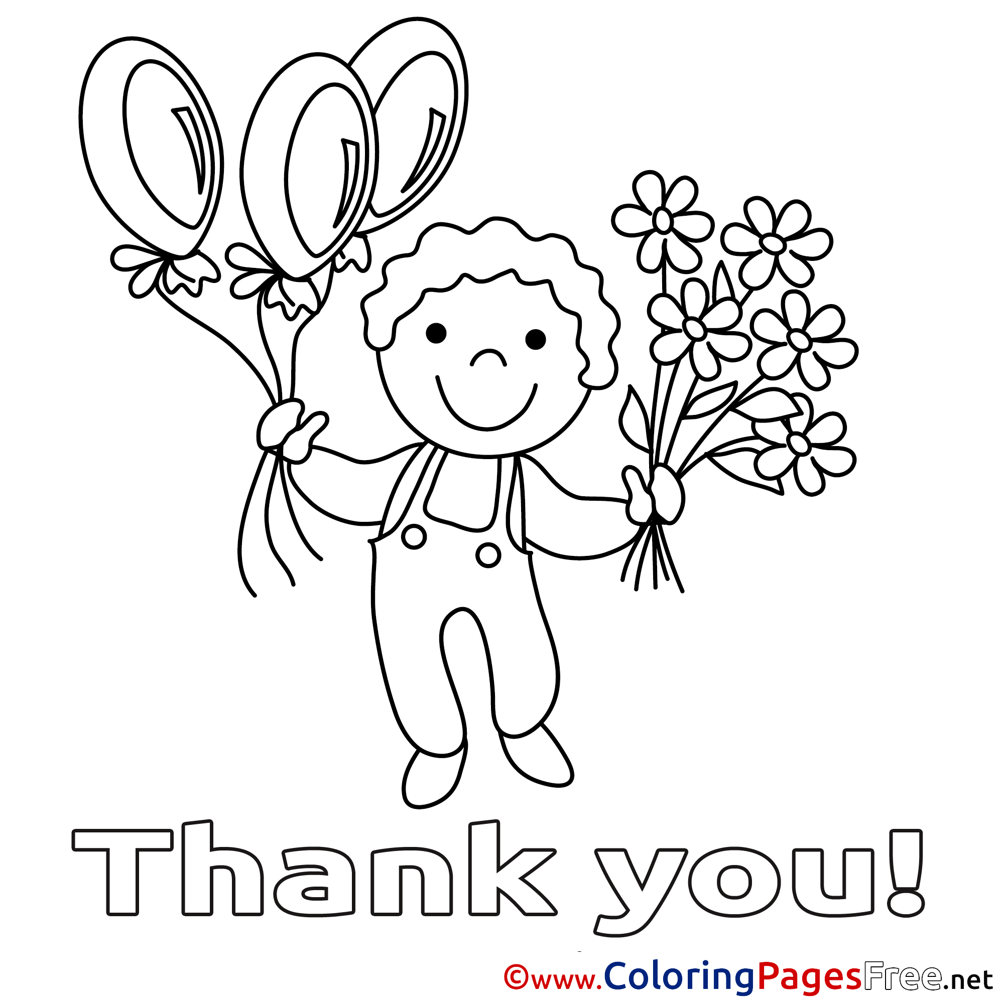 2002x2001 Thank You Coloring Pages Book Of Page