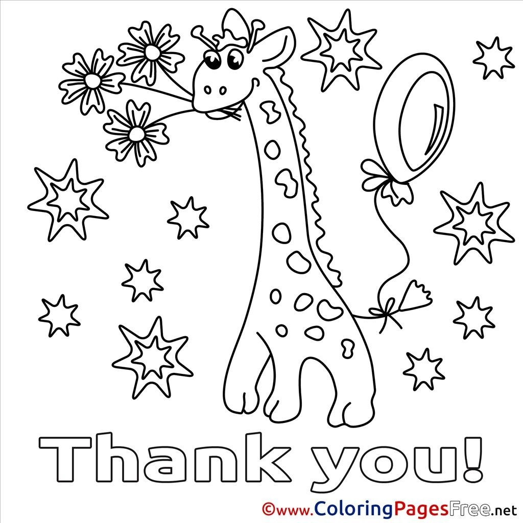1024x1024 Best Of Thank You Backgrounds Coloring Pages Design Free