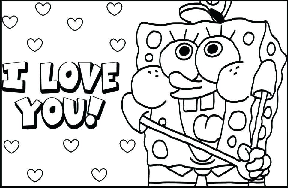 960x626 I Love You Coloring I Love You Coloring Pages Printable Love