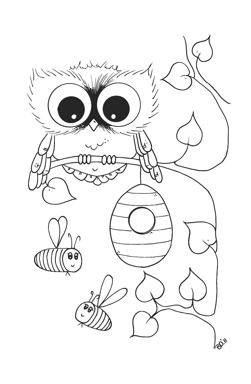 1046x1600 Free For You! One Of My New Coloring Pages There Will Be Soon New