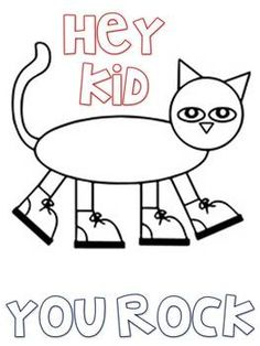 236x314 Pete The Cat Fun Coloring Pages For Students Teacher Pay