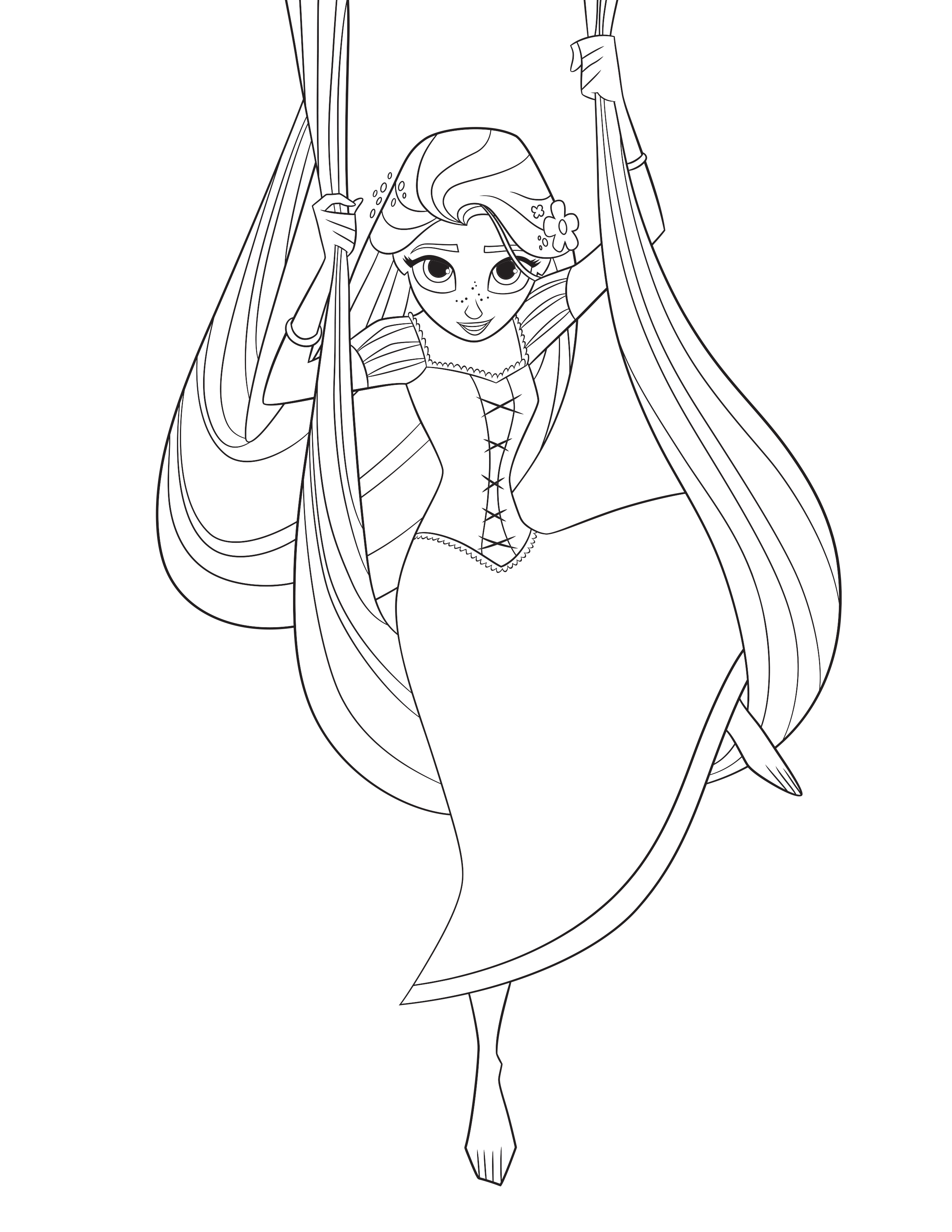 2550x3300 Shrewd Lolirock Coloring Pages Tangled The Ser