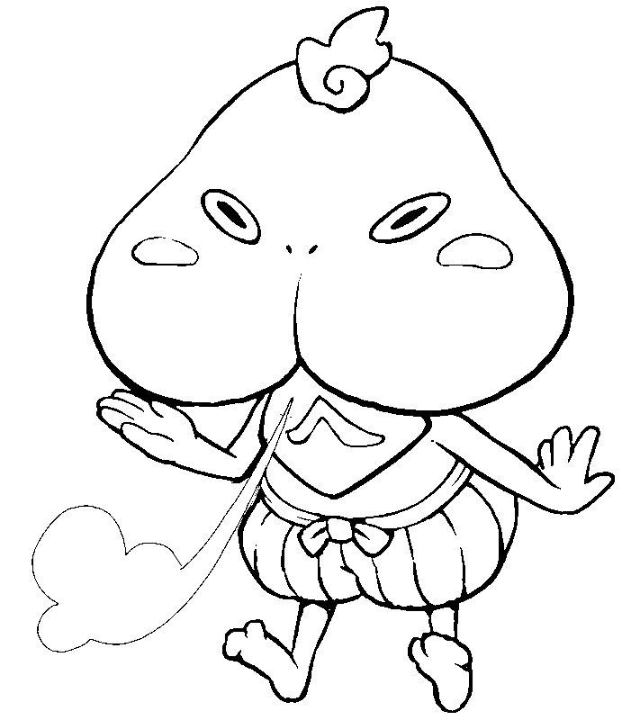 711x800 Yo Kai Coloring Pages Pictures Free Coloring Pages