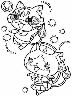 236x314 Yo Kai Watch Coloring Pages Coloring Pages Otaku