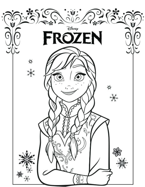 Young Elsa Coloring Pages At Getdrawings Com Free For