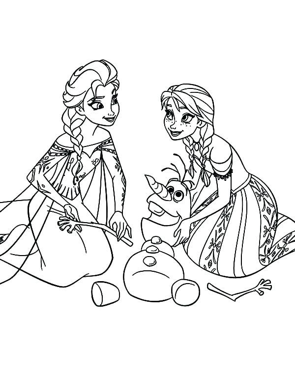 600x763 Elsa Coloring Pages Frozen Coloring Pixels Frozen Frozen Young