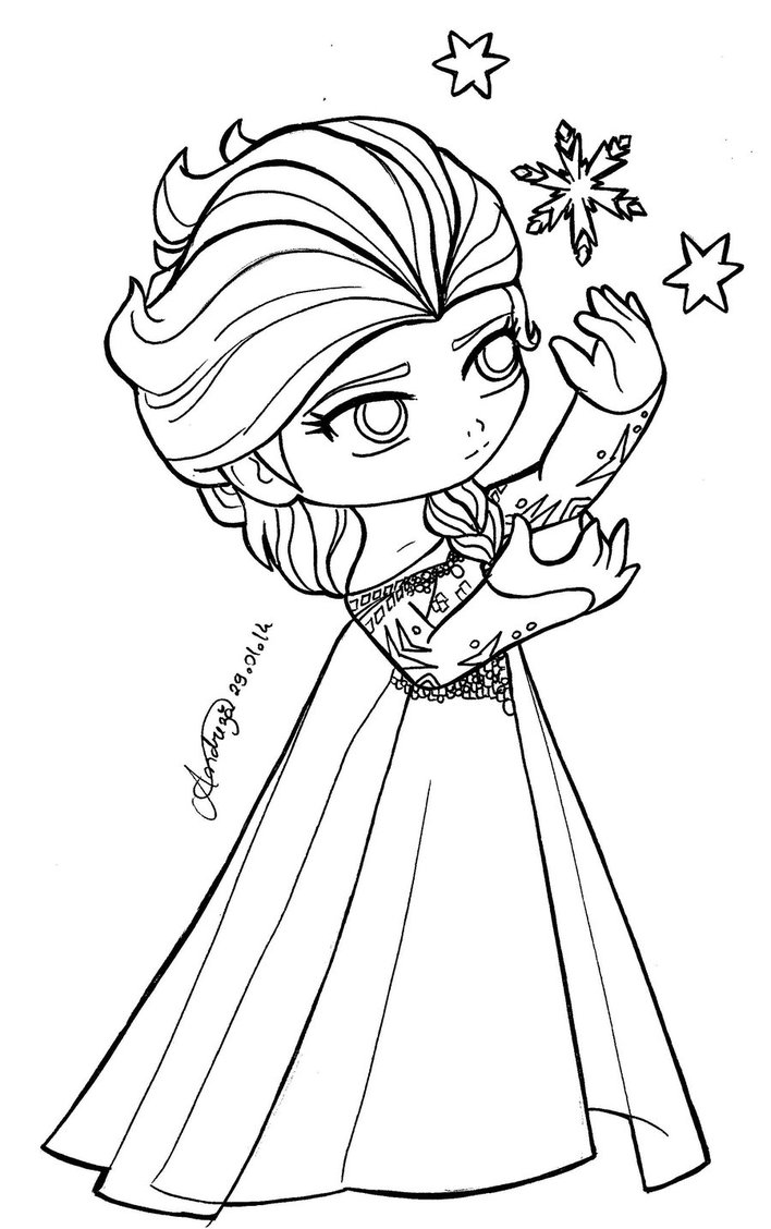 The Best Free Chibi Coloring Page Images Download From 851 Free
