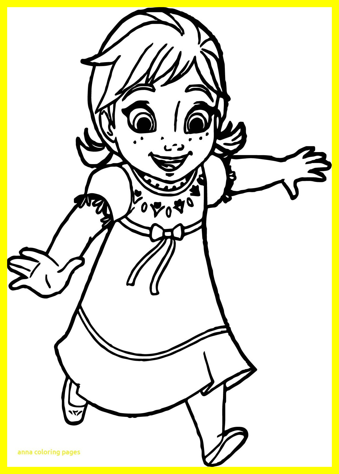 Young Elsa Coloring Pages At Getdrawings Free Download