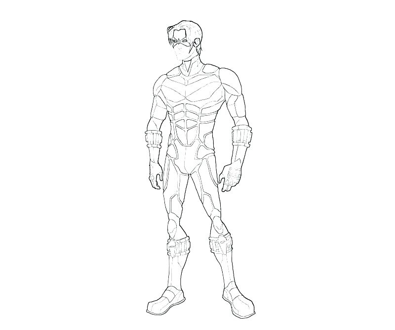 800x667 Young Justice Coloring Pages Young Justice Coloring Pages Best