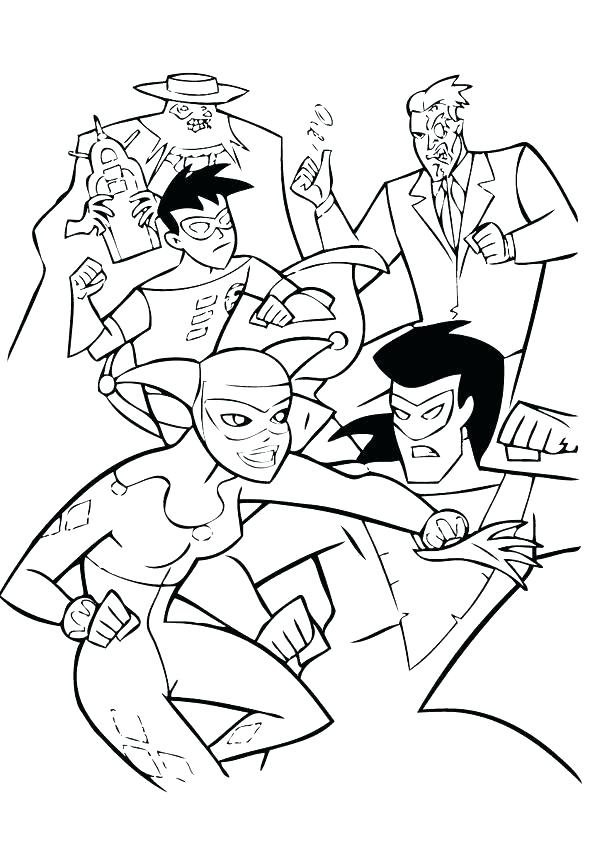 602x850 Young Justice Coloring Pages Young Justice Robin Coloring Pages