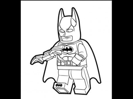 465x349 Lego Coloring Pages For Kids