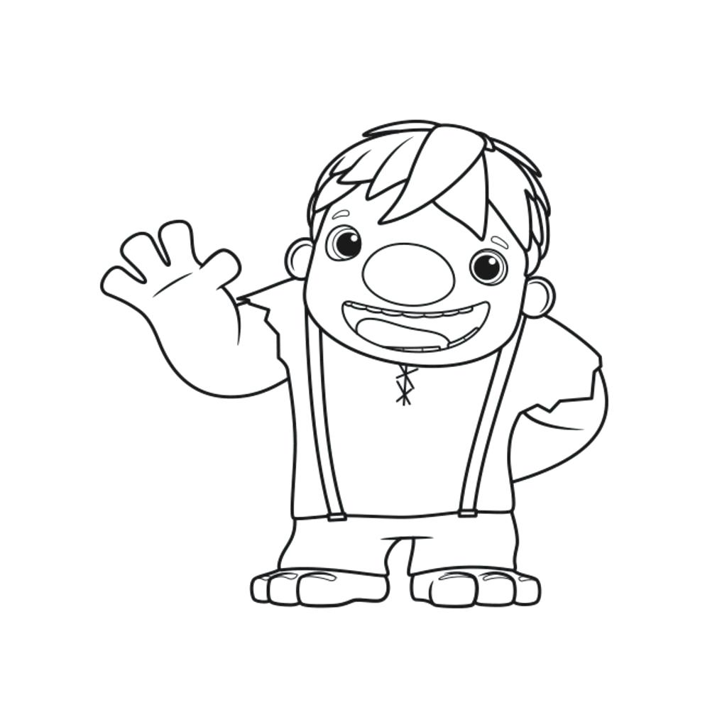 1024x1024 Powerful Wallykazam Coloring Pages Norville Wallykazam How To Draw
