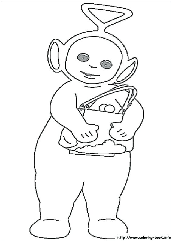 567x794 Teletubbies Colors Blue Youtube Printable Coloring Coloring Pages
