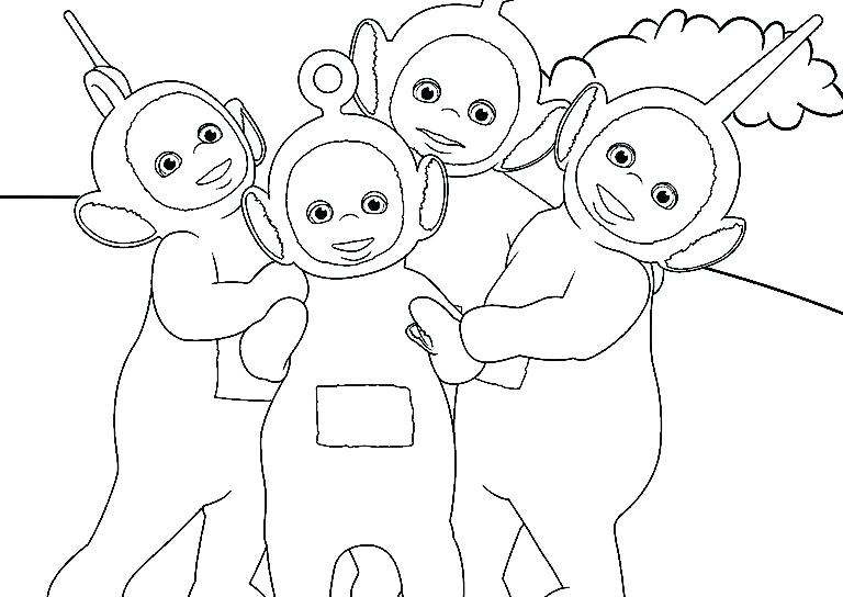 768x544 Teletubbies Colors Brown Youtube Printable Coloring Coloring Pages