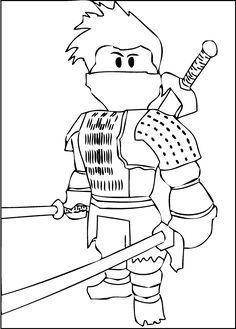 236x329 A Free Printable Roblox Ninja Coloring Page Granbabies