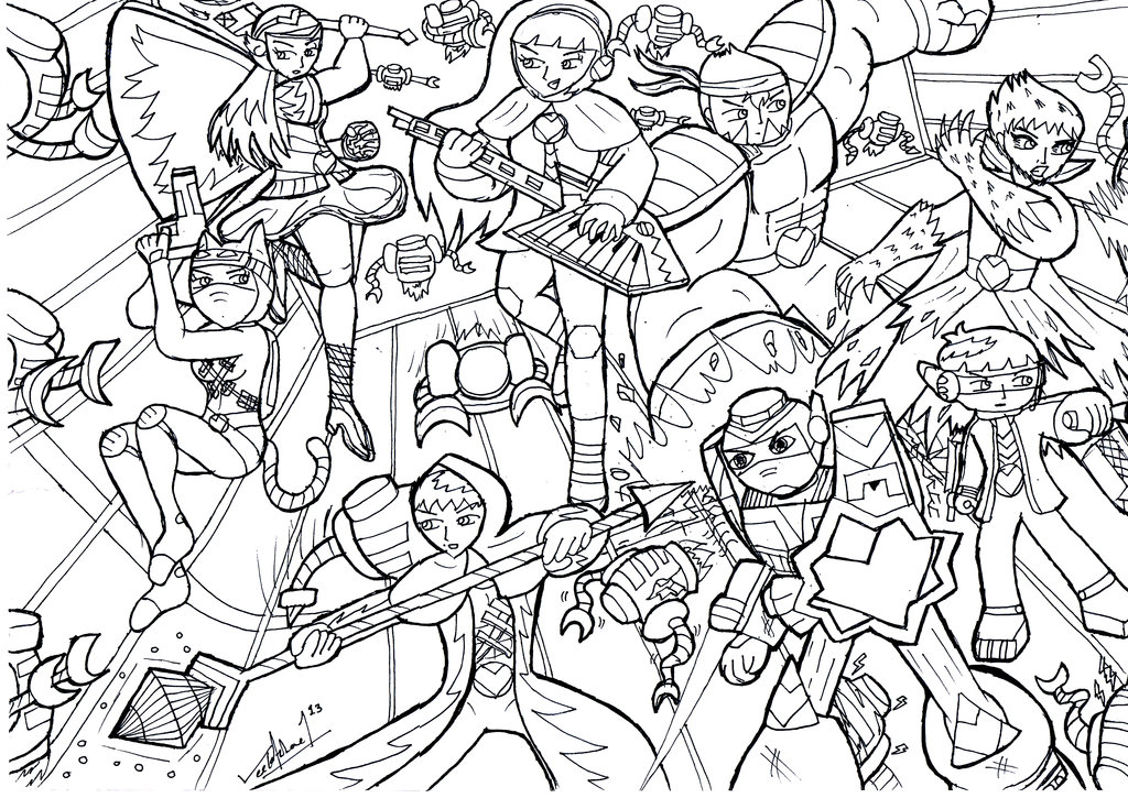 1024x725 Sky Does Minecraft Coloring Pages