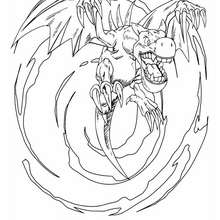 220x220 Yu Gi Oh Coloring Pages