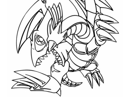 Yugioh Dragon Coloring Pages at