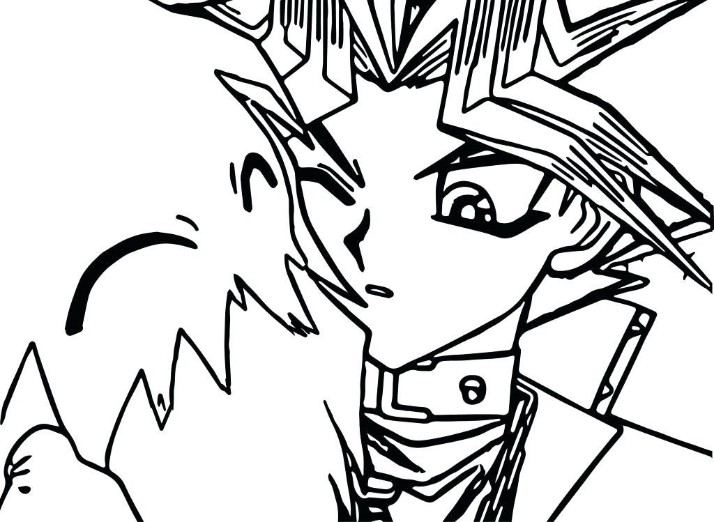 1024x749 Yugioh Coloring Page Large Size Of Coloring Pages Sheet Dragon Oh