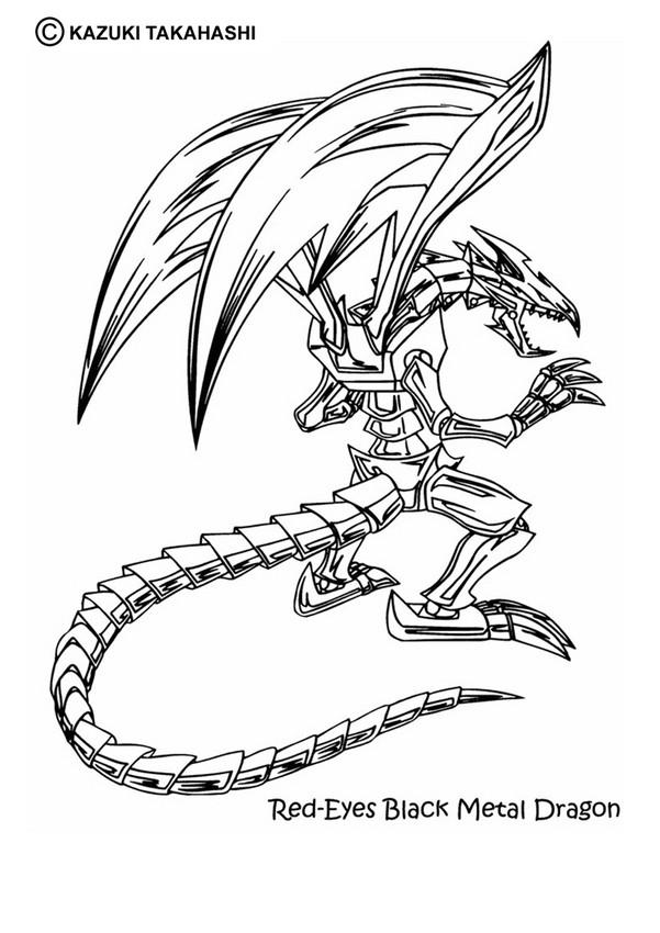 601x850 Black Metal Dragon Coloring Pages