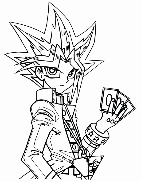 600x775 Coloring Pages Yu Gi Oh Dragons Photograph Click The Print Button