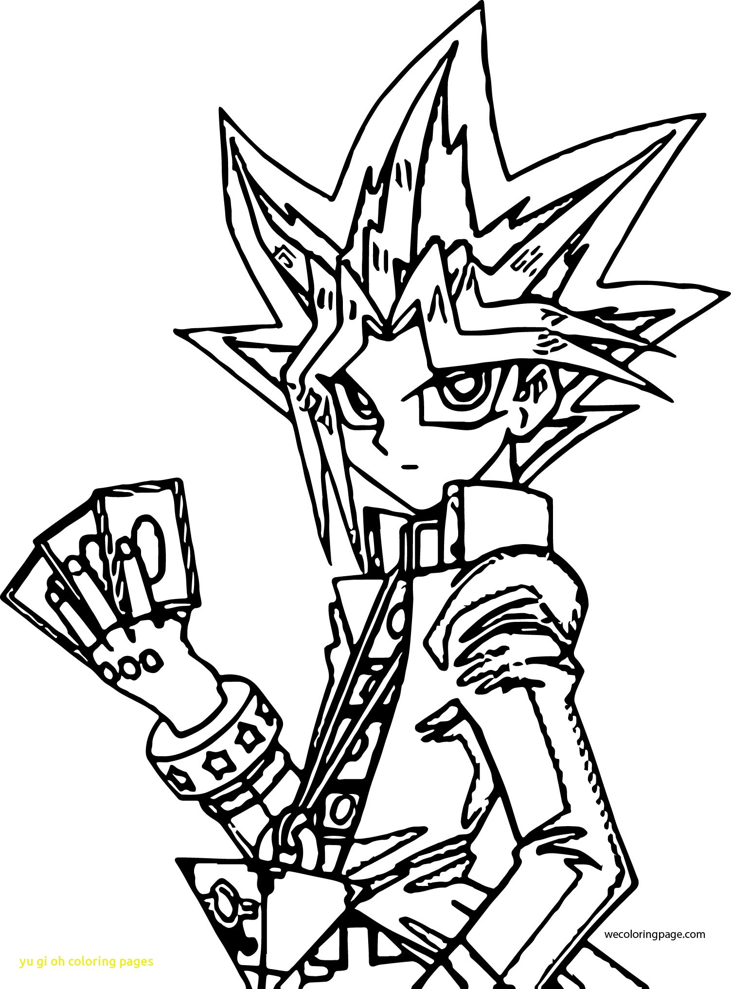 1503x2034 Top Yu Gi Oh Coloring Pages Free Page Best