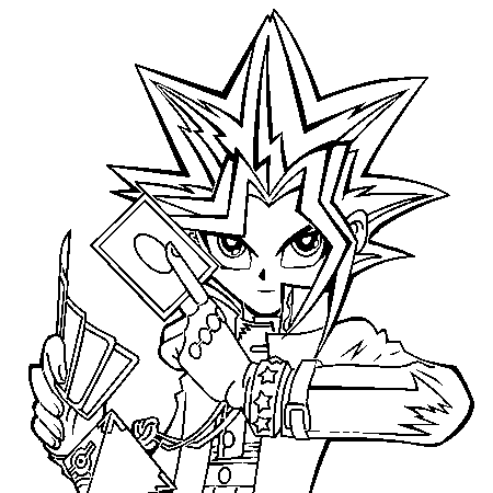 450x450 Yu Gi Oh Coloring Pages Coloring Pages To Print