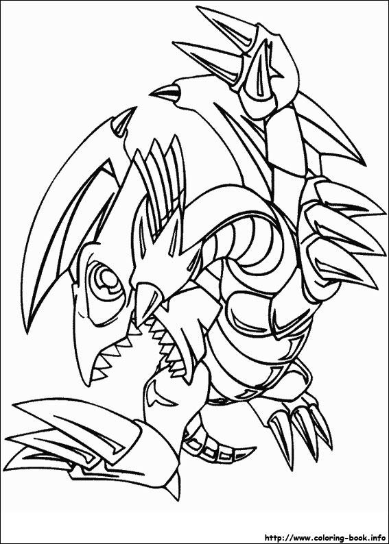 567x794 Yu Gi Oh Coloring Pages On Book Info Colouring For Kids