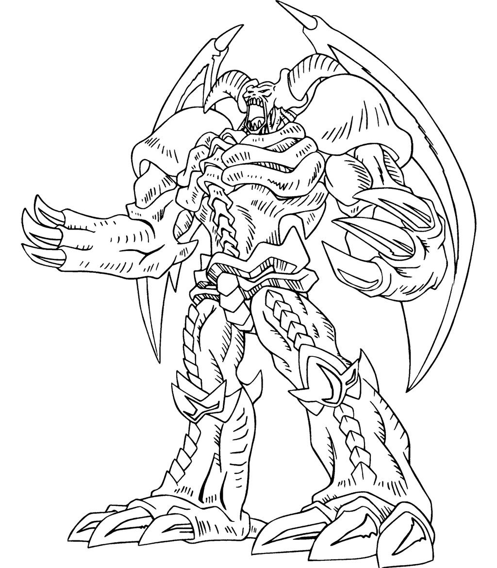 1024x1170 Yu Gi Oh Great Power Coloring Page Kids Coloring Pages