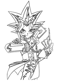 236x323 Yu Gi Oh Coloring Pages For Kids, Printable Free Coloring Pages