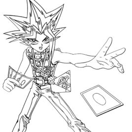 268x268 Yugioh Cards Coloring Pages Archives