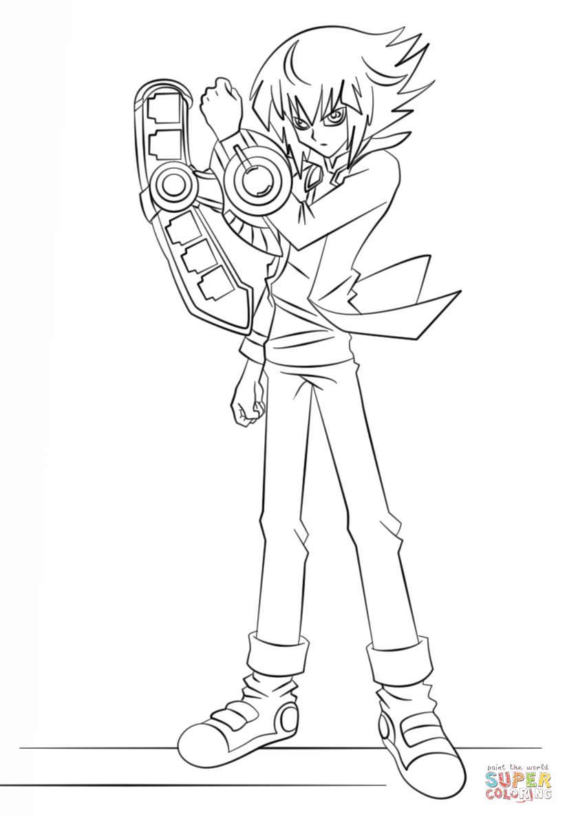 824x1186 Fantastic Yu Gi Oh Coloring Pages To Print For Adults Cartoon