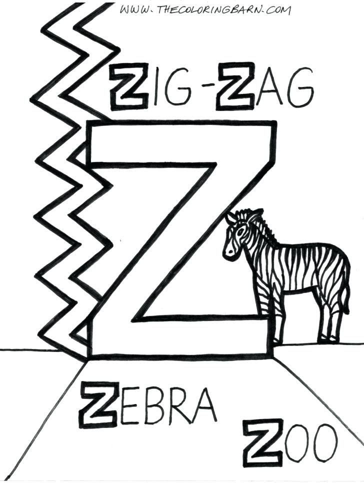 728x966 Letter Z Coloring Page Letter Z Coloring Page With Wallpapers