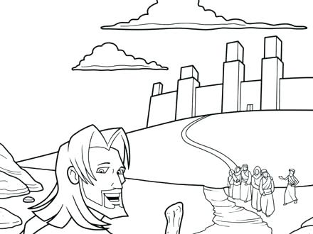 Zacchaeus Coloring Page At Getdrawings Com