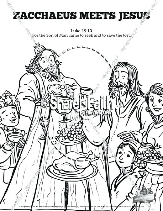Zacchaeus Coloring Page at GetDrawings.com   Free for personal use ...