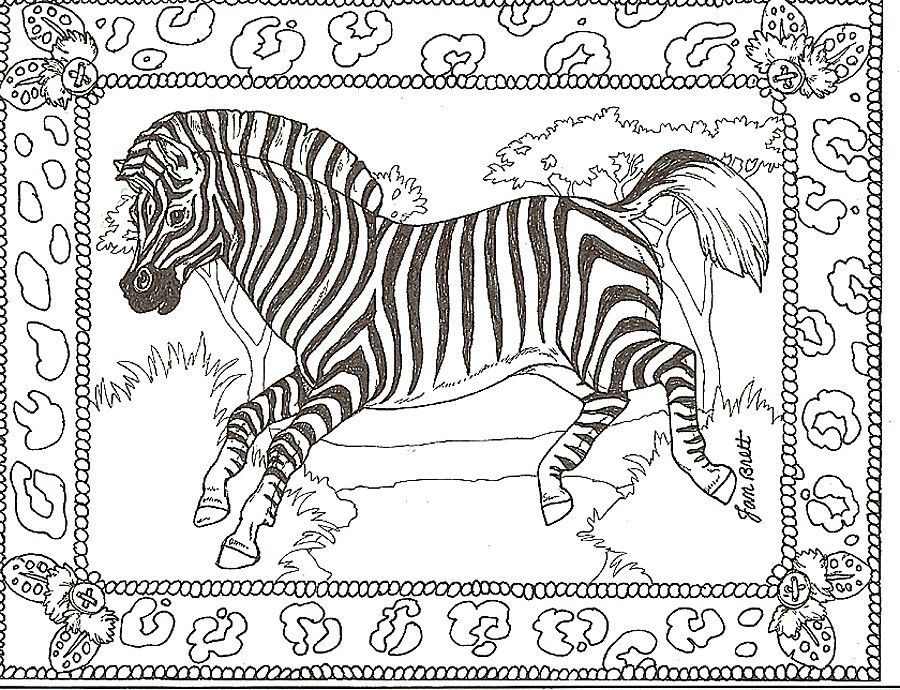 900x690 Free Printable Zebra Coloring Pages For Kids Free Printable
