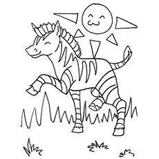 230x230 Top Free Printable Zebra Coloring Pages Online