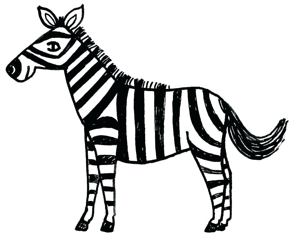 941x768 Zebra Coloring Pages Pdf Coloring Pages Online Zebra Free