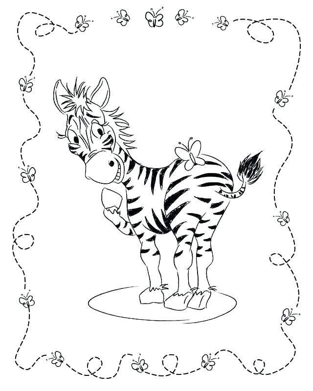 640x800 Zebras Coloring Pages Printable Zebra Coloring Sheets Kids