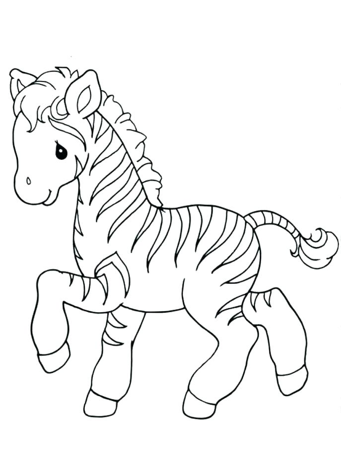 687x947 Zebra Coloring Page Zebra Coloring Page Zebras Pages Free Zebra
