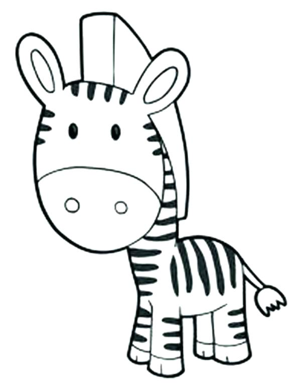 600x777 Zebra Pictures To Color Together With Zebra Color Page Z Is Zebra