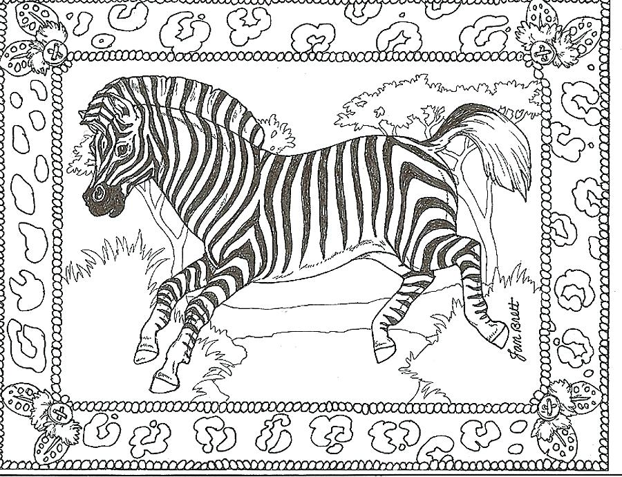 900x690 Free Zebra Print Coloring Pages Kids Coloring Zebra Coloring Pages