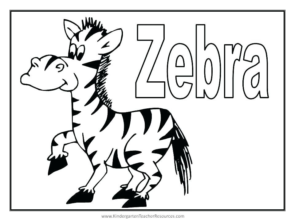 960x720 Baby Zebra Coloring Pages Zebra Color Sheet Zebra Coloring Sheets