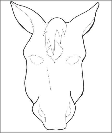 Zebra Face Coloring Page at GetDrawings com | Free for